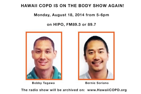 Hawaii NPR COPD Body Show
