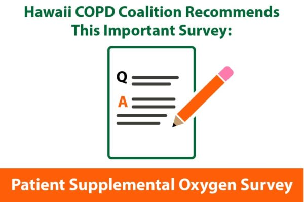 hawaii-copd supplemental oxygen survey infographic